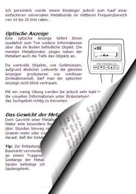 Metallsonde - Auf der Suche nach wertvollen Schätzen (Schatzsucherhandbuch)